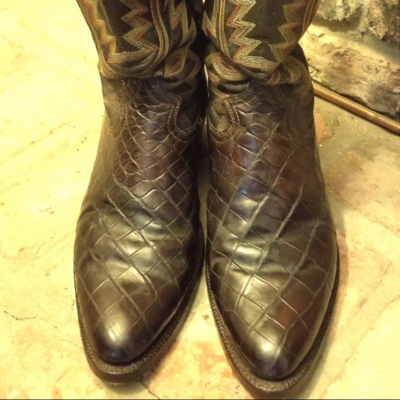 37085cc357f Alligator Belly Cowboy boots - Crocodile Custom